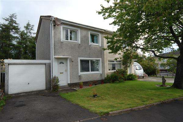 3 Bedrooms Semi Detached House for sale in Loudoun Crescent, Kilwinning