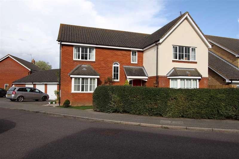 5 Bedrooms Detached House for sale in Gurdon Road, Grundisburgh