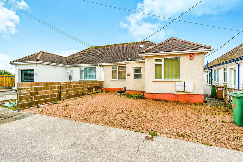 3 Bedrooms Semi Detached Bungalow for sale in Old Woodlands Road, Plymouth, PL5