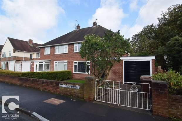 3 Bedrooms Semi Detached House for rent in Needwood Drive, Bebington, Wirral, Merseyside