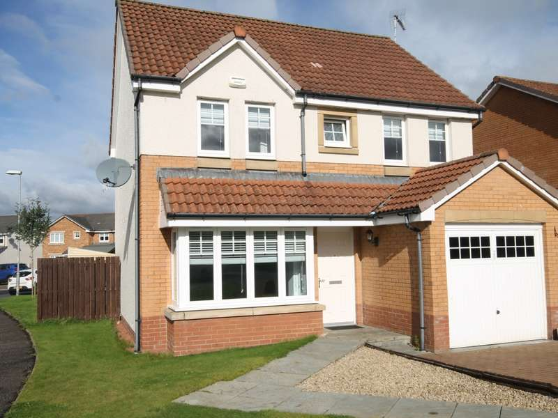 4 Bedrooms Detached House for sale in 20 Shankly Drive, Newmains, Wishaw, ML2 9QP