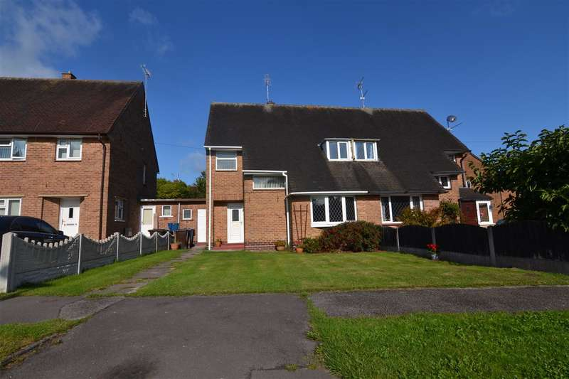 3 Bedrooms Semi Detached House for sale in Nelson Way, Stafford