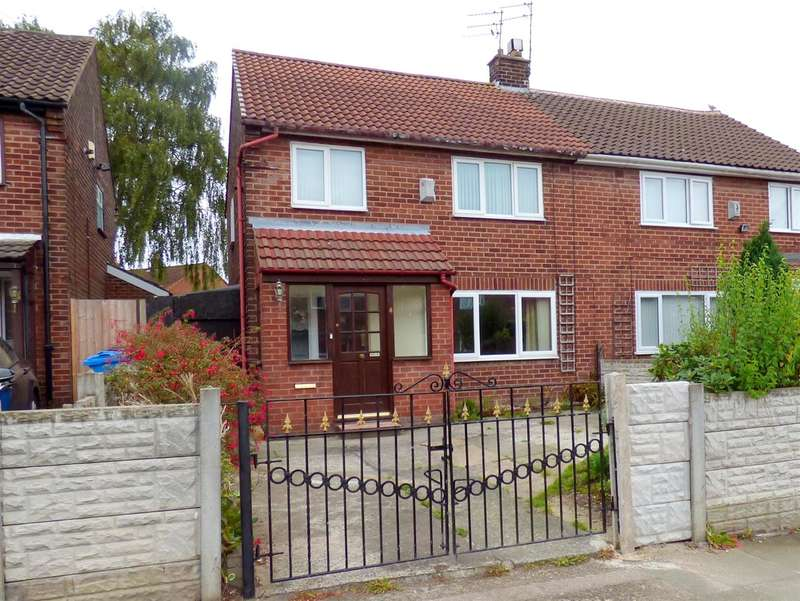 3 Bedrooms Semi Detached House for sale in Scott Avenue, Huyton, Liverpool