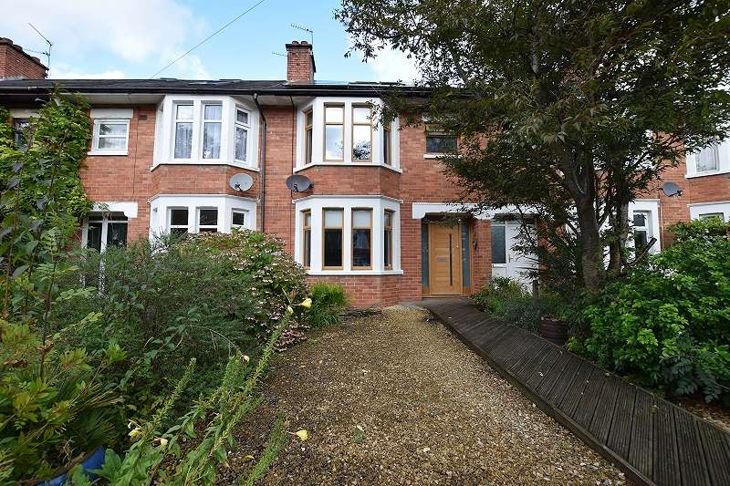 3 Bedrooms Terraced House for sale in Erw Wen , Rhiwbina, Cardiff. CF14 6JW