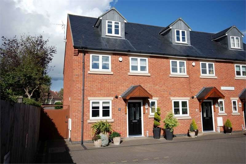 4 Bedrooms End Of Terrace House for sale in Stonemasons Yard, Lower Hillmorton Road, RUGBY, Warwickshire