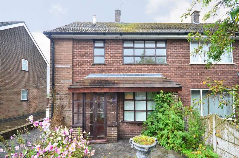 3 Bedrooms Semi Detached House for sale in York Road, Weston Coyney, ST3 6NW