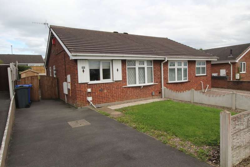 2 Bedrooms Semi Detached Bungalow for sale in June Road, Stoke-On-Trent, ST4