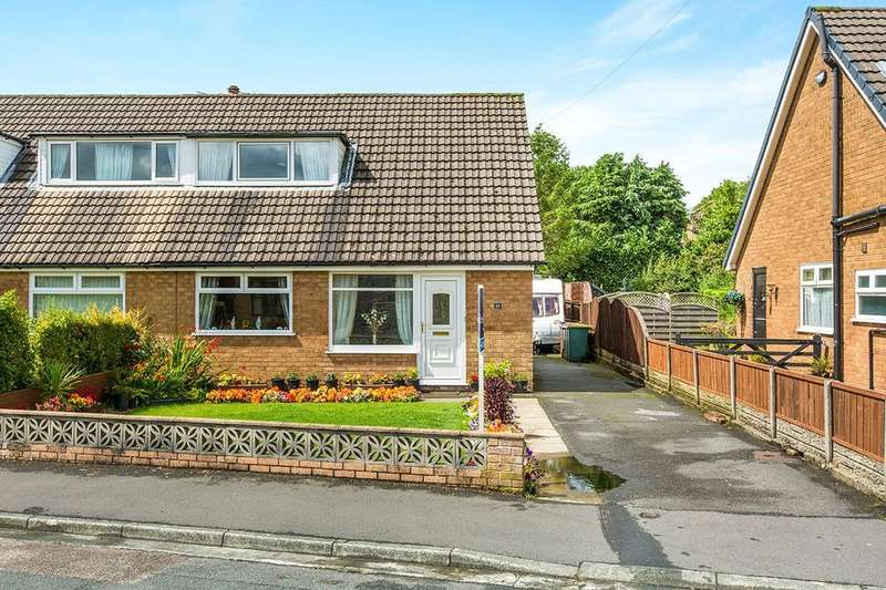 3 Bedrooms Semi Detached Bungalow for sale in Ribblesdale Drive, Grimsargh, Preston, PR2