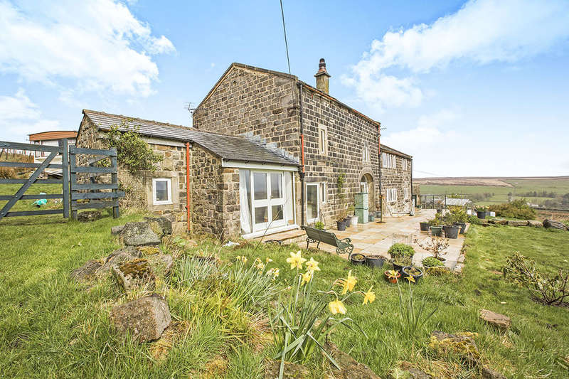 4 Bedrooms Detached House for sale in Slade Farm Colden, Hebden Bridge, HX7