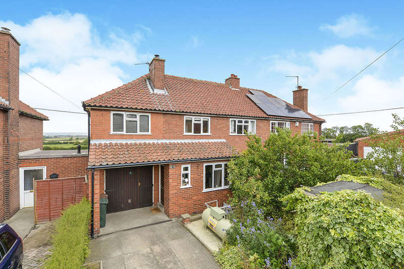 4 Bedrooms Semi Detached House for sale in Eastfield Estate, Amotherby, Malton, YO17