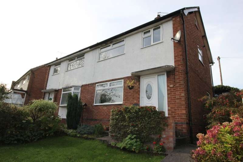 3 Bedrooms Semi Detached House for sale in St. Christophers Drive, Romiley, Stockport, SK6