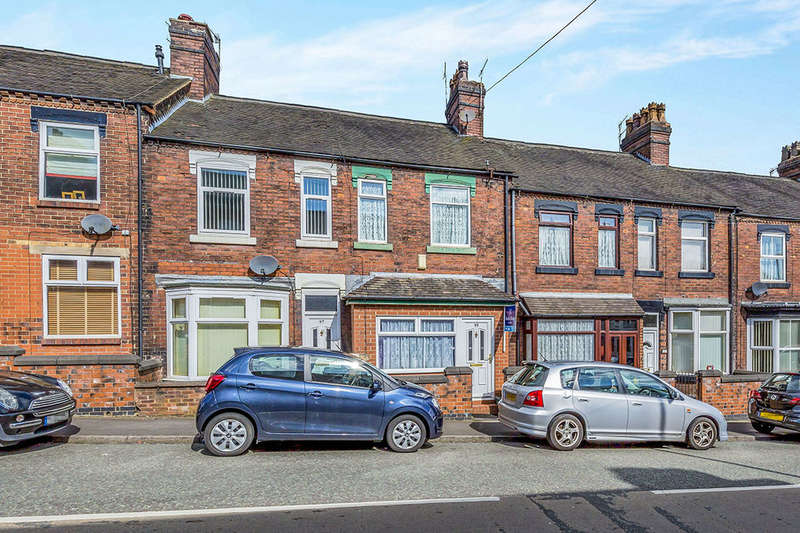 2 Bedrooms Terraced House for sale in Birches Head Road, Stoke-On-Trent, ST1