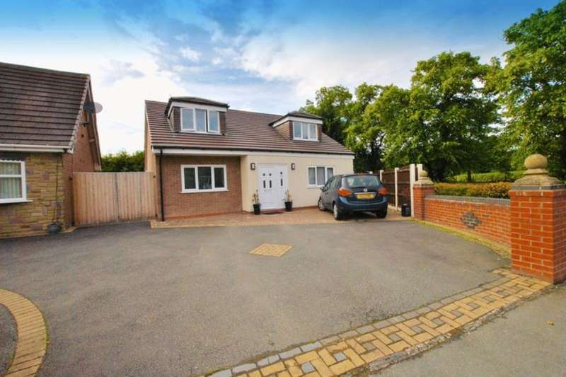3 Bedrooms Detached Bungalow for sale in Long Lane South, Middlewich, CW10