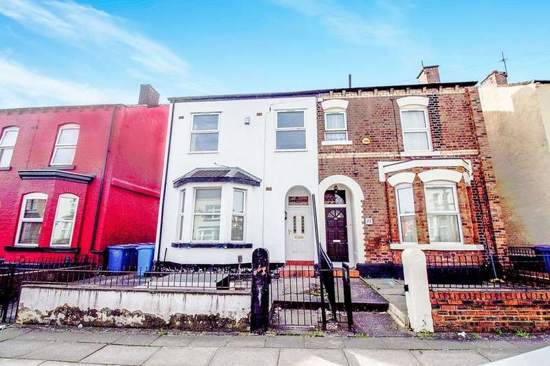 4 Bedrooms Semi Detached House for sale in Boswell Street, LIVERPOOL, L8