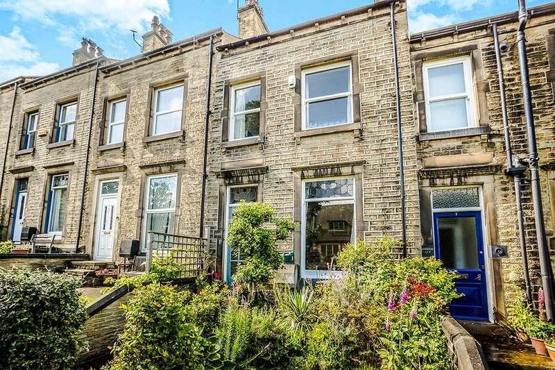 3 Bedrooms Terraced House for sale in Wheathouse Terrace, Birkby, Huddersfield, HD2