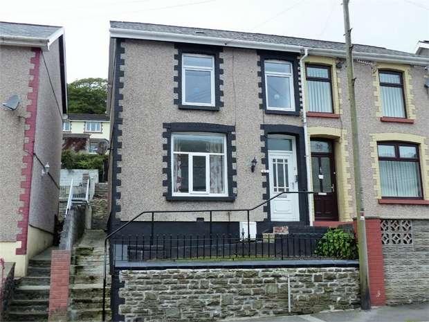 3 Bedrooms Semi Detached House for sale in Adare Street, Ogmore Vale, Bridgend, Mid Glamorgan