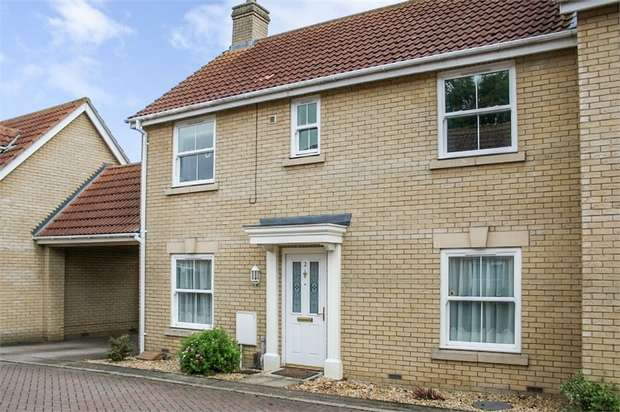 4 Bedrooms Semi Detached House for sale in St Marys Close, Mepal, Ely, Cambridgeshire