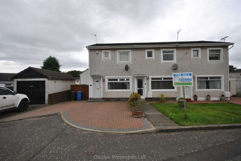 2 Bedrooms Terraced House for sale in Gullane Place, Kilwinning, KA13 6TR
