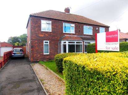 3 Bedrooms Semi Detached House for sale in Glendale Road, Middlesbrough