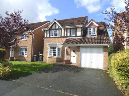 4 Bedrooms Detached House for sale in Brampton Drive, Bamber Bridge, Preston, Lancashire, PR5
