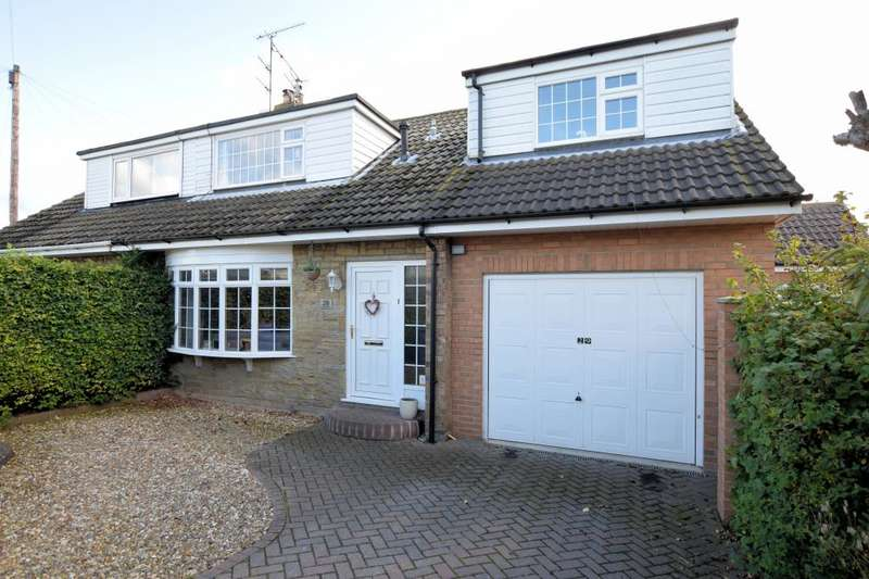 4 Bedrooms Semi Detached House for sale in Spring Gardens, Cayton, Scarborough, North Yorkshire YO11 3SH