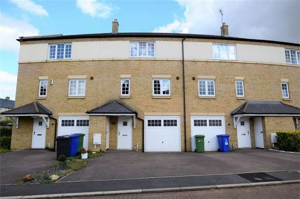 3 Bedrooms Terraced House for sale in Williams Way, Grange Park, NORTHAMPTON