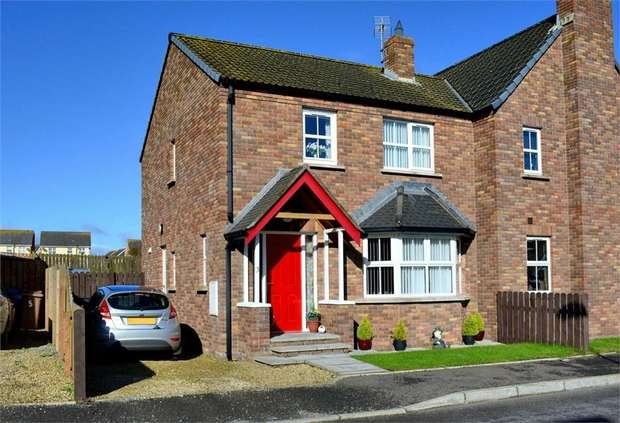 3 Bedrooms Semi Detached House for sale in Tides Bank, Portavogie, Newtownards, County Down