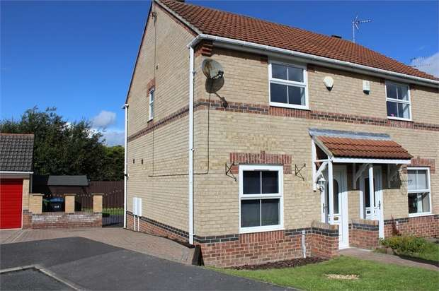 2 Bedrooms Semi Detached House for sale in Mayfield Walk, St Helen Auckland, Bishop Auckland, Durham