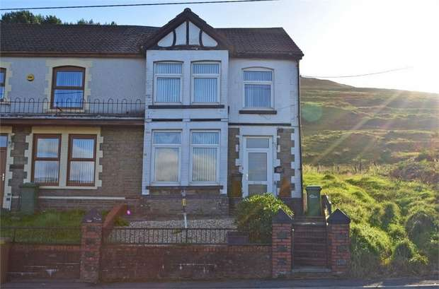 3 Bedrooms End Of Terrace House for sale in Southend Terrace, Pontlottyn, Bargoed, Caerphilly
