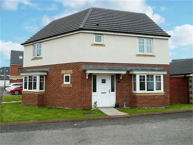 3 Bedrooms Detached House for sale in Hadrian Drive, Blaydon-on-Tyne, Tyne and Wear