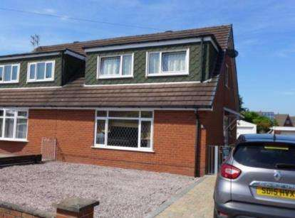 3 Bedrooms Semi Detached House for sale in Ribblesdale Drive, Grimsargh, Preston, Lancashire