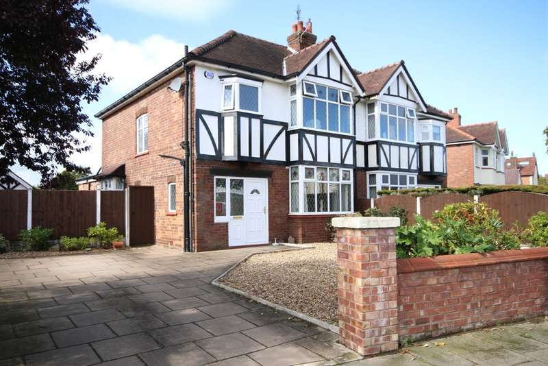 3 Bedrooms Semi Detached House for sale in Derwent Avenue, Churchtown, Southport