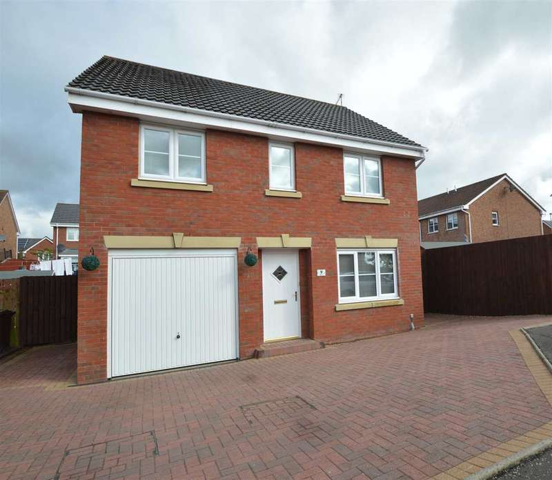 4 Bedrooms Detached House for sale in Elder Way, Carfin