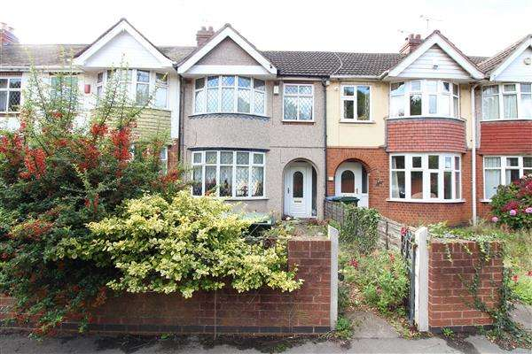 3 Bedrooms Terraced House for sale in Bridgeman Road, Radford, Coventry