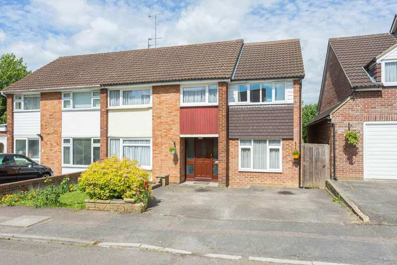 5 Bedrooms Semi Detached House for sale in NO UPPER CHAIN & APPROX 1609 SQ FT 5 BEDROOM EXTENDED SEMI with POTENTIAL ANNEX IN LEVERSTOCK GREEN