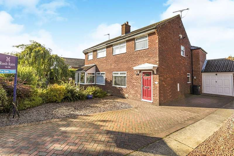 4 Bedrooms Semi Detached House for sale in Aldwin Close, FERRYHILL, DL17