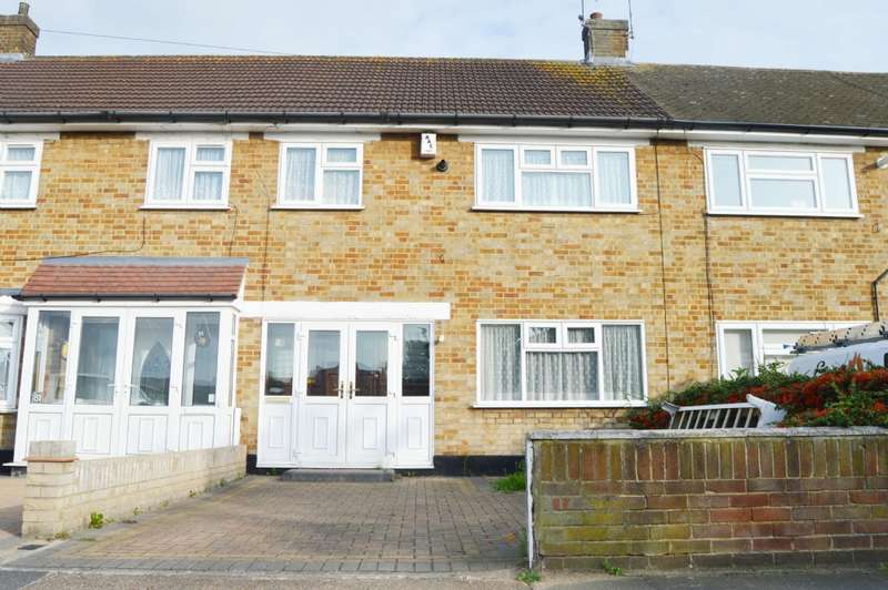 3 Bedrooms Terraced House for sale in Hood Road, Rainham