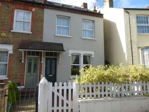 3 Bedrooms End Of Terrace House for sale in Newton Road, Isleworth, Middlesex