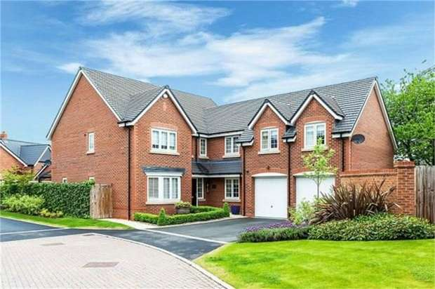 5 Bedrooms Detached House for sale in Shakerley Place, Somerford, Congleton, Cheshire