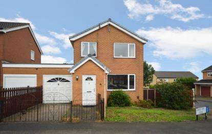 3 Bedrooms Detached House for sale in Ridge View Close, Sheffield, South Yorkshire