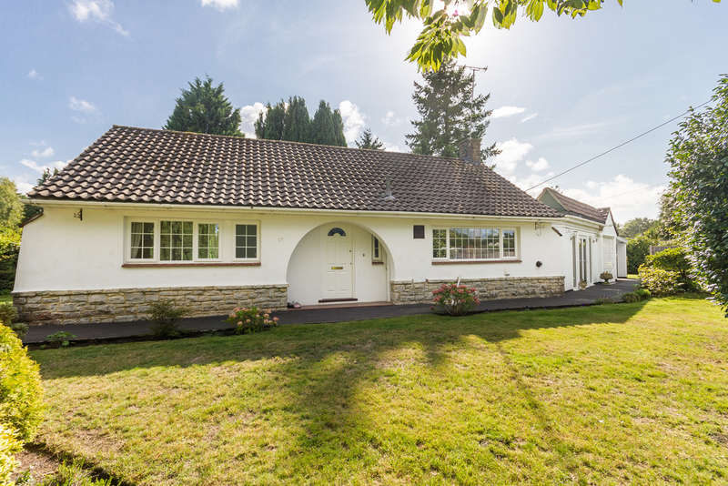 3 Bedrooms Detached Bungalow for sale in St Leonards, Ringwood, Hampshire
