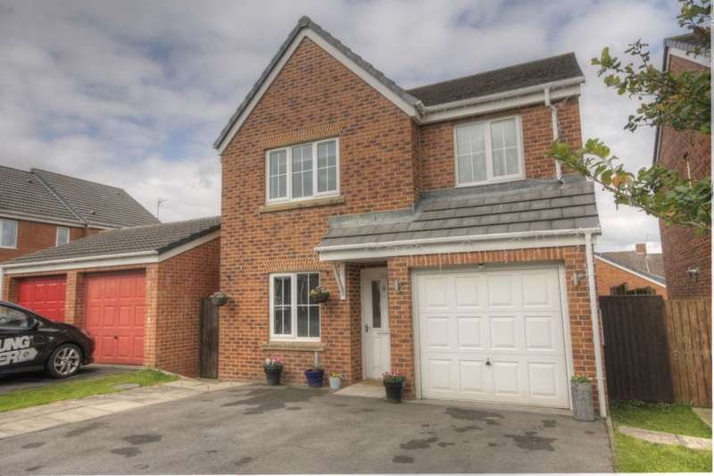 4 Bedrooms Detached House for sale in Dorset Crescent, Consett, DH8