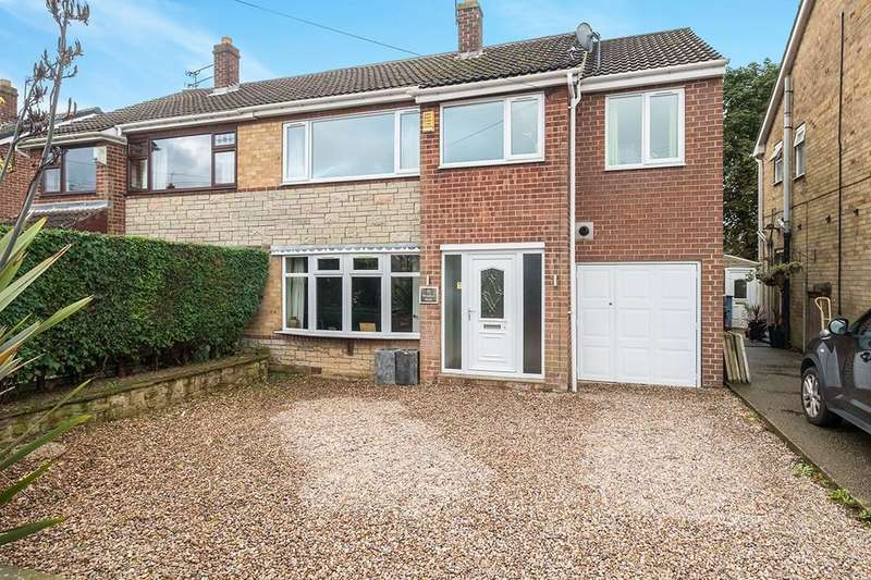 4 Bedrooms Semi Detached House for sale in Windsor Walk, South Anston, Sheffield, S25