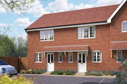 2 Bedrooms Semi Detached House for sale in Off Silfield Road, Wymondham, Norfolk
