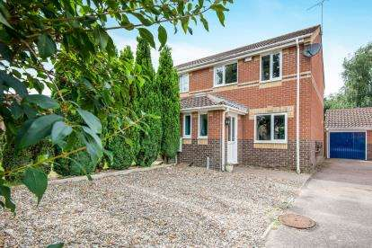 3 Bedrooms Semi Detached House for sale in Dussindale, Norwich, Norfolk