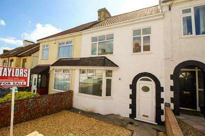 3 Bedrooms Terraced House for sale in Northend Avenue, Kingswood, Bristol, South Gloucestershire
