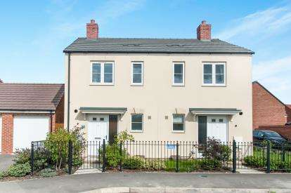 2 Bedrooms Semi Detached House for sale in Boulmer Avenue, Kingsway, Gloucester, Gloucestershire