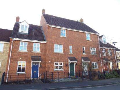 3 Bedrooms Terraced House for sale in Mayfly Road, Oakhurst, Swindon, Wiltshire