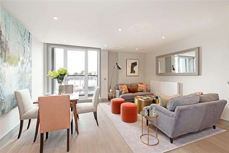 3 Bedrooms Flat for sale in Ivory House, Clove Hitch Quay, Battersea, London, SW11