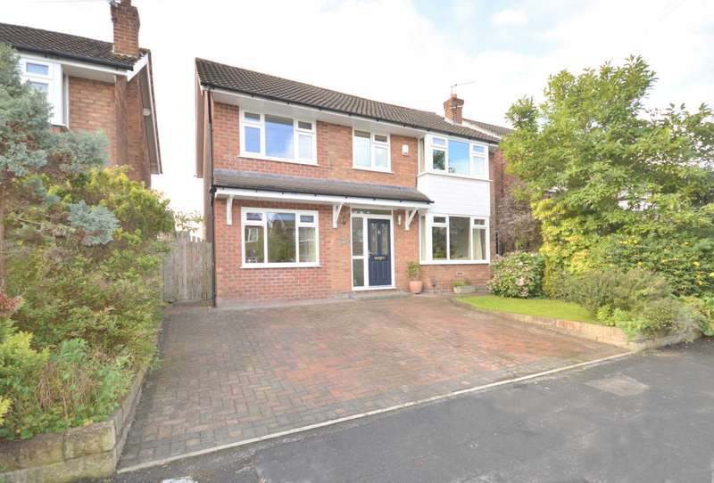 4 Bedrooms Detached House for sale in MELBOURNE ROAD, Bramhall